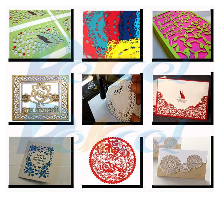 Co2 laser cutting paper