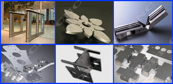 Fiber laser cutting stainess steel