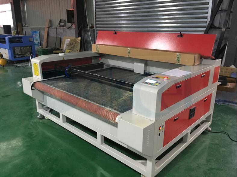 Auto feeding cnc laser