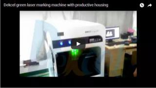 Green laser engraving machine for crystal inner engraving