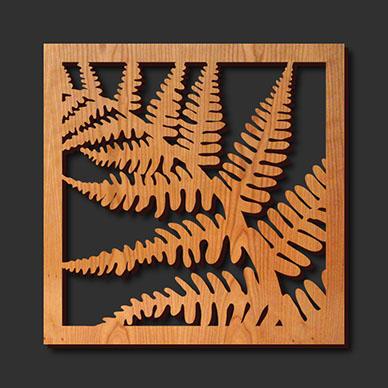 co2 laser cut wood
