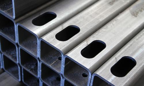 fiber laser cutting square pipe
