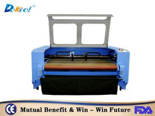 Automatic feeding Leather/fabric laser cutting machine DEKJ-1610