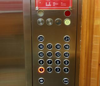 Fiber laser cutting machine for stainess steel elevator