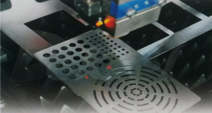 pipe cnc fiber laser cutting machine red light automatic boundary