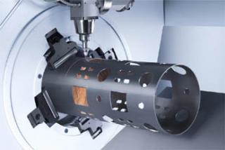 Pipe fiber laser cutting machine