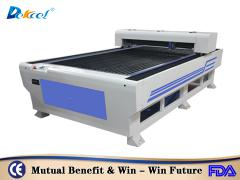 co2 metal laser cutting machine 260W cutting thin metal sheet