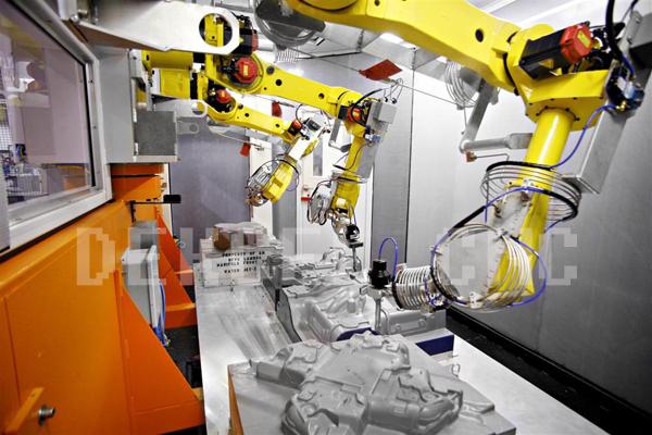 3D ROBOTER CUTTING MACHINE PRODUCTION LINE