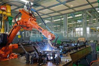 3D robot fiber transmission laser cutting machine