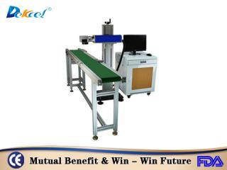 CNC Fiber Online Flying Laser Marking Machine