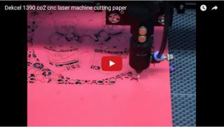 Cnc Laser machine cutting paper/candy box for wedding