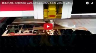 350W/500W/750W metal fiber laser cutter for stainless steel