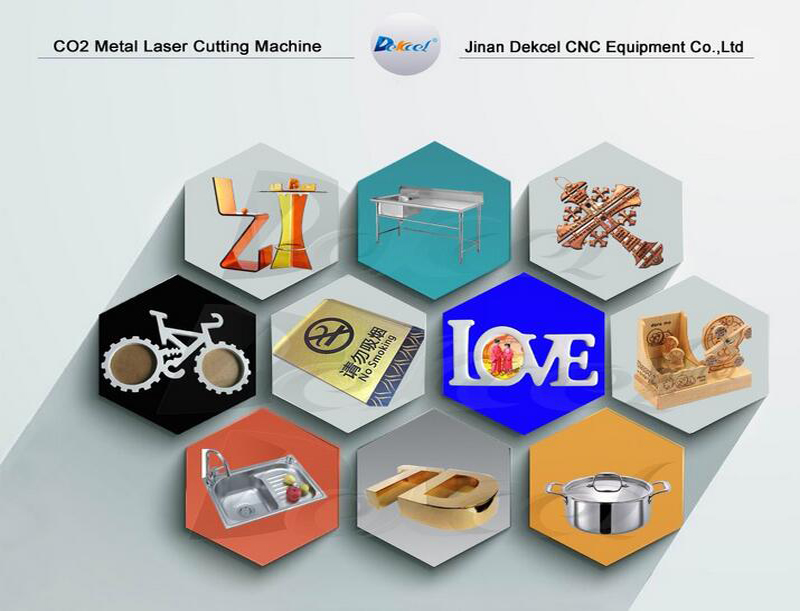 150w co2 laser cutting machine samples