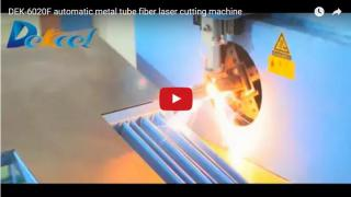 Metal tube and pipes fiber laser cutting machine 1200W