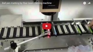 High efficiency Pen fiber laser marking machine