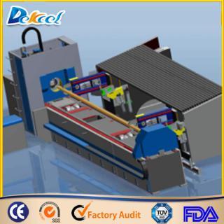 L6000*Dia200mm Tube Automatic Fiber Laser Cutting Machine