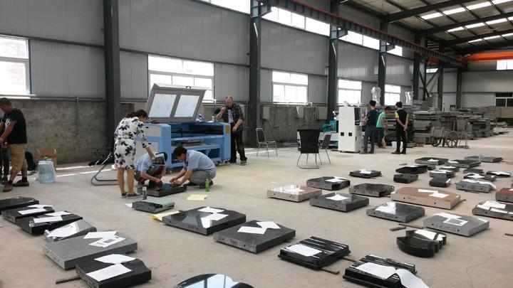 dekcel cnc co2 stone laser engraving machines