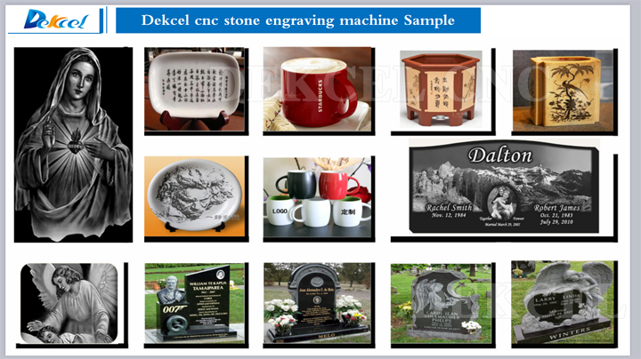 CO2 Grave Stone Laser Engraver Machine for Funeral - Stone