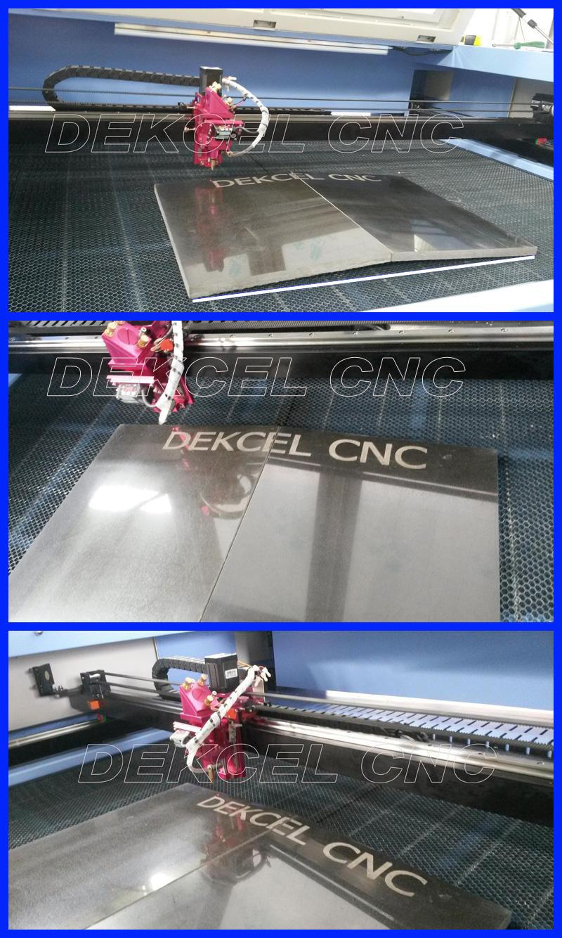 dekcel cnc nometal laser engraving with auto focus head