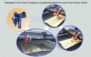 CO2 Auto Focus Engraving and Cutting For Nonmetal Material