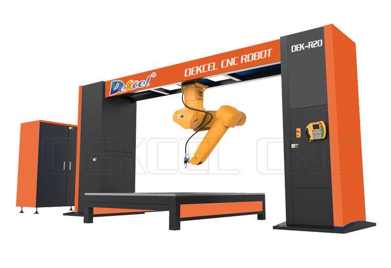 dekcel cnc robot fiber laser cutting machines