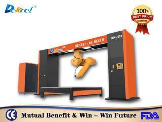 3D Robot Fiber Metal Laser Cutting Machine for Automotive Industry