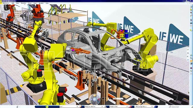 robot manipulator metal processing
