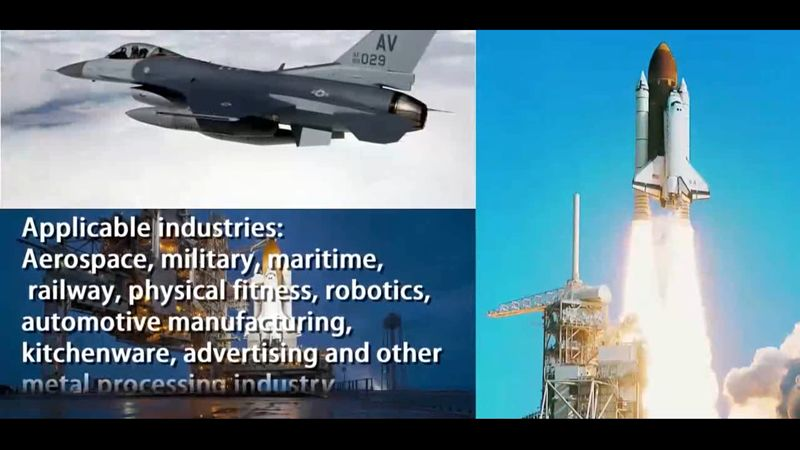 fiber metal laser cutting machines aerospace application