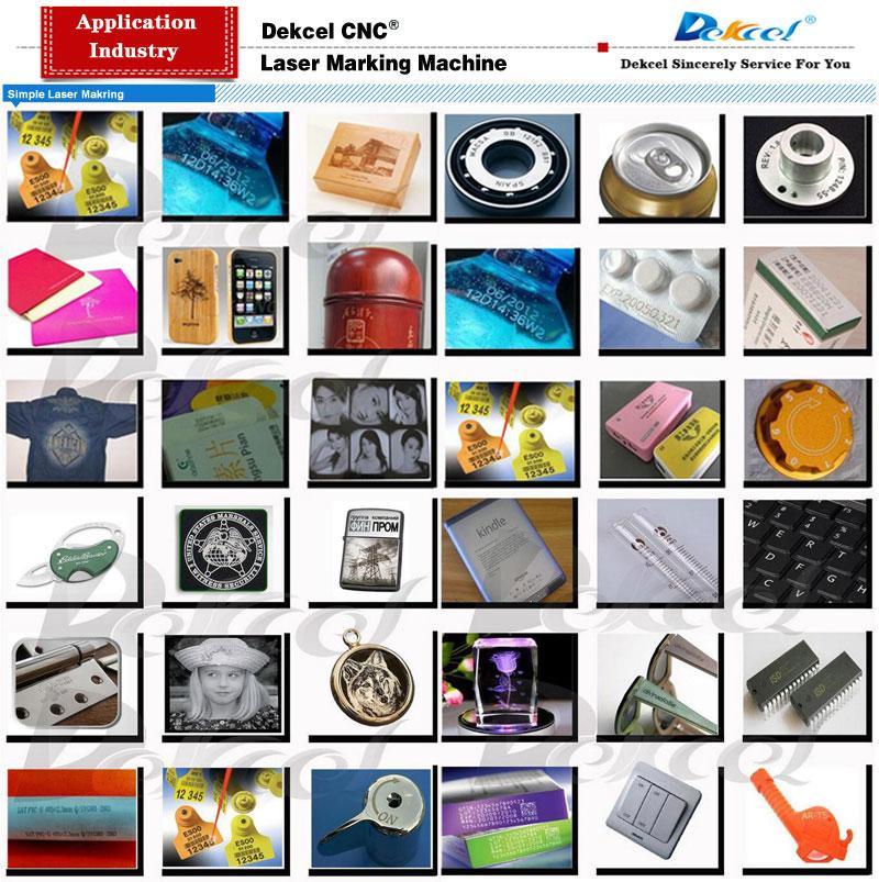 portable laser marking machine sample