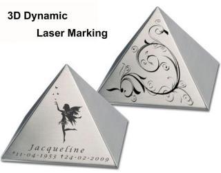 Large Size 3D Dynamic Fiber Laser Marking Machine With Auto-Focus Fuction