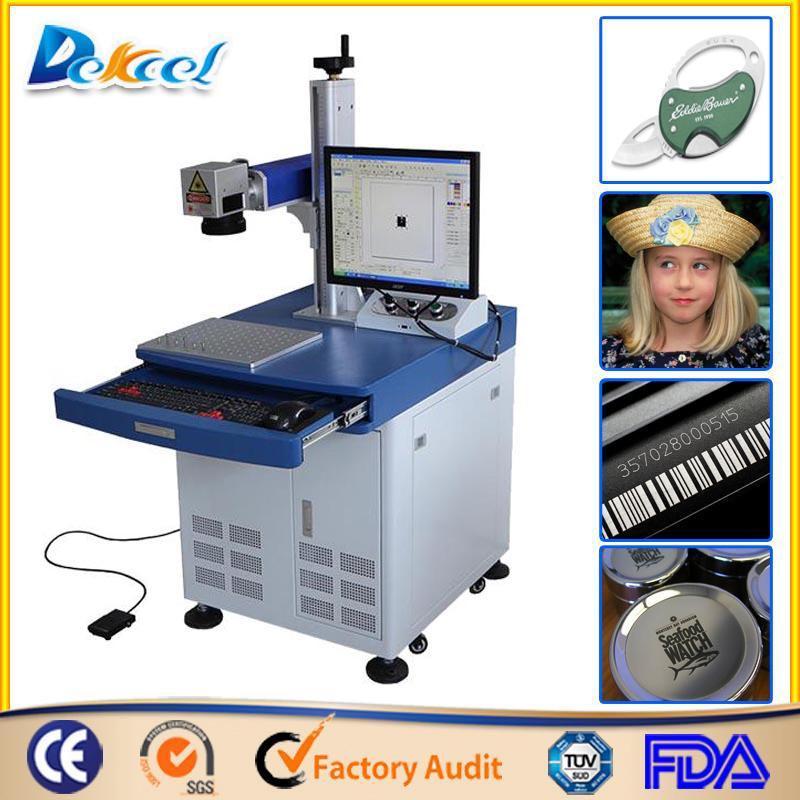Used IPG fiber metal Laser Marking Solution Machine