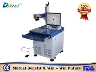 Used Second Hand IPG 20W CNC Fiber Metal Plastic Marking Machine Slotion For Sal