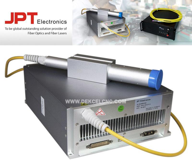 DEKCEL CNC mopa color marking laser machine