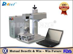Dekcel CNC® 20w cnc marker fiber laser marking machine for hardware industry