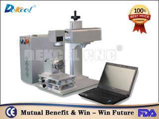 Dekcel CNC® 20w cnc marker fiber laser marking machine for hardware industry