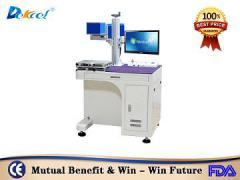 DekcelCNC® Coherent 30w leather,glass co2 laser marking machine