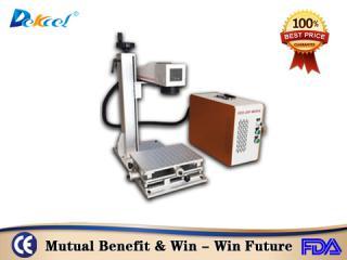 DEKCEL CNC®Best Price 20W 30W Cnc  Fiber Laser Marking Machine For Logo, Brand