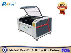 DEKCEL CNC ® 9060 Co2 80w 100w  Laser Cutting Leather Shoe/Bag Machine Price