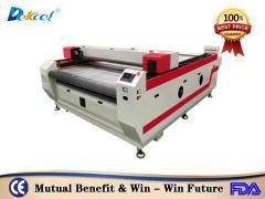 DekcelCNC®1825 auto feeding fabric cloth textile cnc co2 laser cutting machine