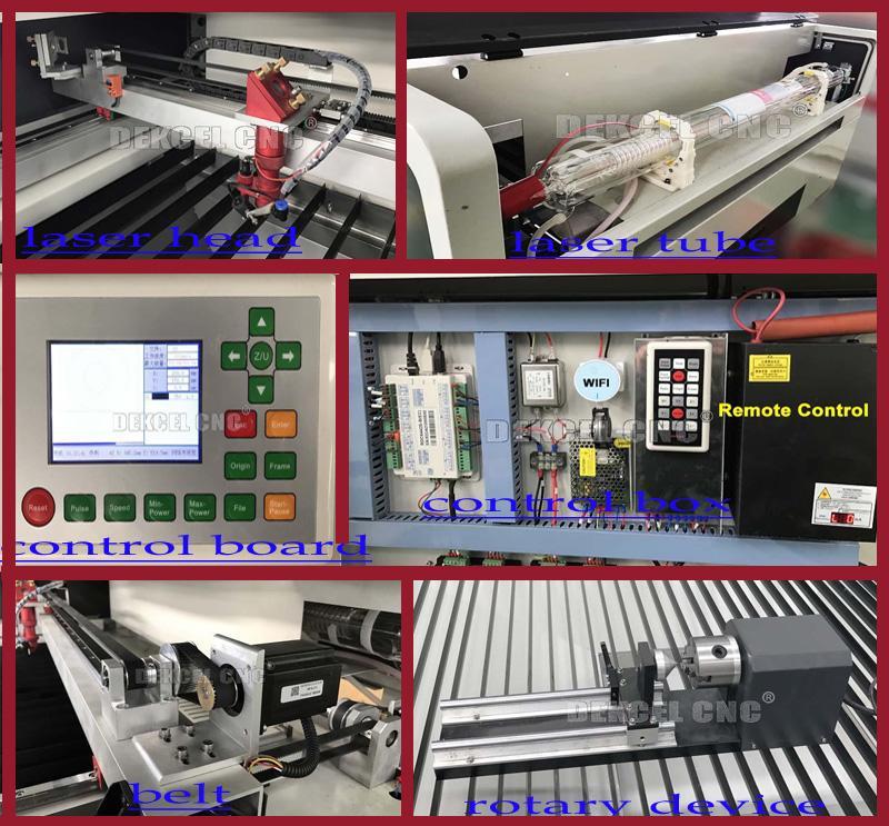 parts of co2 cnc laser cutter for eva foam