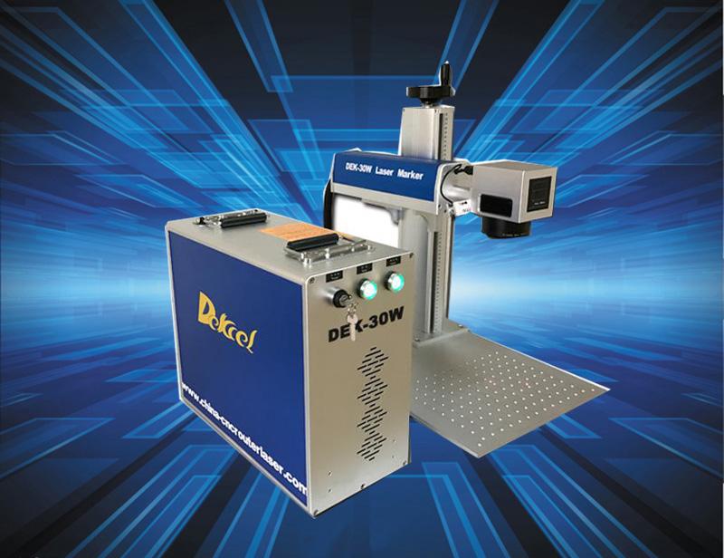China quality cnc 20w fikber laser marking metal machine price
