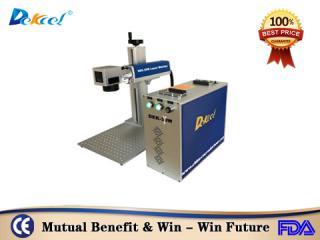 Dekcelcnc® 20w China fiber laser marking machine for Stainless steel price