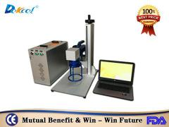 30w Handel portable fiber laser marker machine for gold metal