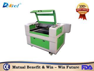 Dekcelcnc® 9060 100W Cnc Co2 Laser Cutter for Foam Acrylic
