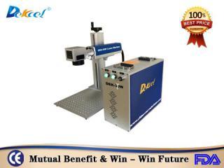 Dekcelcnc® Mopa 20w Fiber Laser Marking Machine for Steel Bracelet for sale