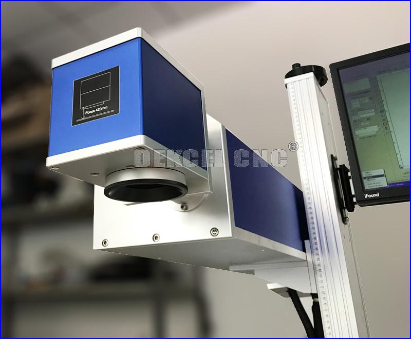 cnc 1002 co2 laser cutter and makre head