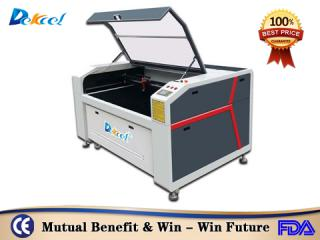 Dekcelcnc® 80w 100w CNC Co2 Laser Cutting Machine for Rubber For Sale