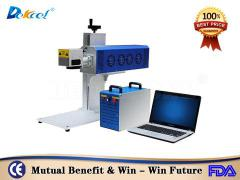 DEKCEL 30w portable co2 laser marker cnc machine good price sale
