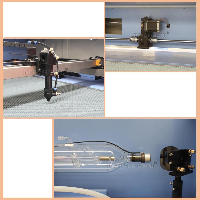 details of cnc co2 laser machine