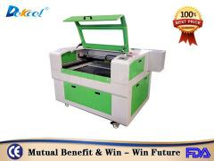 DEK-9060 co2 cnc nonmetal laser cutting machine for cloth acrylic